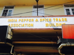 Indian pepper and spice building