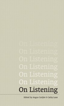 ON LISTENING BOOK COVER