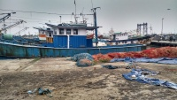 Fishing boat harbour Kochi