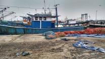 Fishing boat harbour Kochi