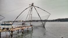 operating chines fishing nets Kochi