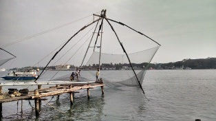 operating chines fishing nets Kochi