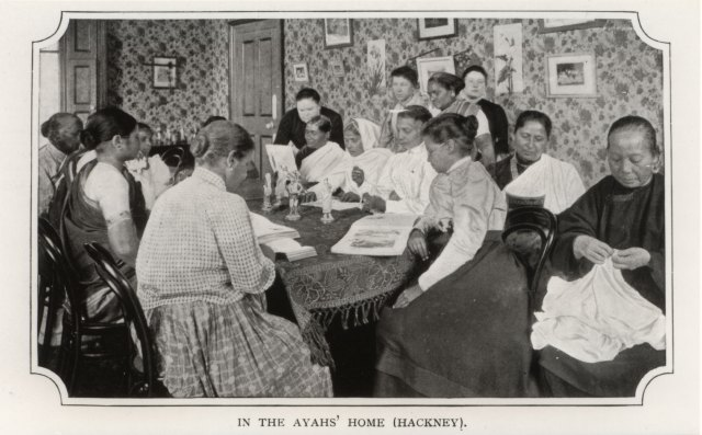 1 inside ayahs home round the table 1900 from BL website